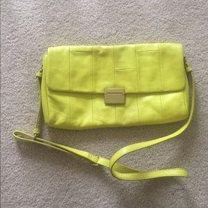 J.Crew crossbody bag in AMAZING yellow color